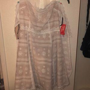 White dress from forever21